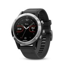 Garmin Fenix 5 HR GPS Multisports Outdoor Hiking Watch - Silver/Black