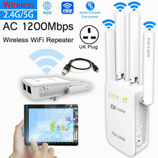 1200Mbps Wireless WiFi Router Range Extender WiFi Signal Booster WiFi Repeater