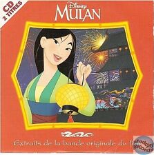 DISNEY MULAN CD SINGLE - 2 EXTRAITS DE LA BANDE ORIGINALE jerry goldsmith