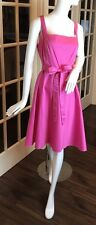 CHAPS - NWT $90 - 16 - Hot Pink Fit & Flare Square Neck Gorgeous