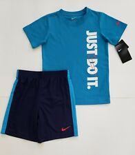 *NEW* Boy's NIKE DRI-FIT Shirt & Shorts 2 Piece Set Size 5/6 NWT