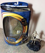 """Lord of The Rings Smeagol With sound base 7"""" action figure, Return of the King"""
