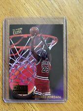 1993-94 Fleer Ultra Inside Outside 4 of 10 From Scoring King Set- Michael Jordan