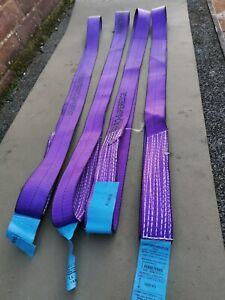 4x1000Kg Endless Polyester Webbing LiftingRound Sling 2.20mtr