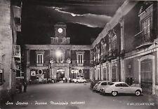 # S. SEVERO: PIAZZA MUNICIPIO - notturno   1961