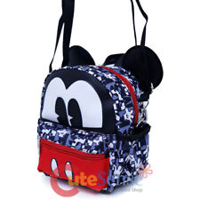 Disney Mickey Mouse Mini Backpack Convertible Messenger Shoulder Cross Bag 6""