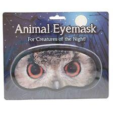 NOVELTY ANIMAL EYE MASK - 'OWL' SLEEP JOKE BLINDFOLD PRACTICAL JOKE GIFT