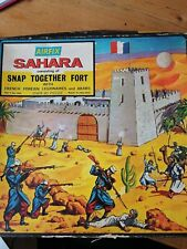 Vintage Airfix HO-OO Scale SAHARA SET No1684 Boxed RARE Fort, French Legionaires