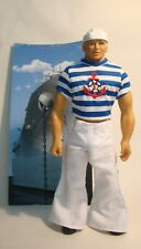 Billy Gay Doll Hello Sailor Doll Cap Boots Bell-bottoms Striped Anchor T-shirt