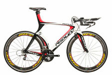 2010 Ridley Dean Triathlon Bike Large Carbon SRAM Red 10 Speed PRO Zipp 404