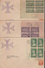 1944-FDC-4 ANTILLES. REPUBLICA. 1944. DESCUBRIMIENTO DE AMERICA. CRISTOBAL COLON