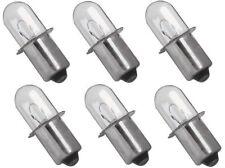 (6) Ryobi P704 Replacement Bulb 18 Volt Xenon