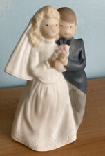 Vintage 1992 GoldeN Memories Bride and Groom Porcelain Made by Lladro Daisa 8�