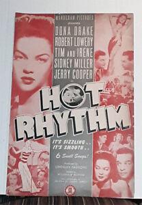 HOT RHYTHM - 1944  Robert Lowery, Dona Drake, Tim Ryan