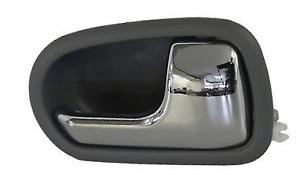 *NEW* INNER DOOR HANDLE (CHROME GREY) for MAZDA 323 BJ 3/2001-12/2003 RIGHT RHS