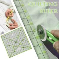 Yellow Quilting Sewing Patchwork Ruler Cutting Tool Craft New U DIY Tailors G6U4