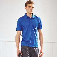 AWDis JC040 Cool Mens Polo T-shirt Sports/ Casual Wear Polyester Plain Polo Tops