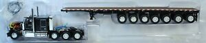 1/64 DCP Die-Cast Promotions Stryders Truckng Kenworth W900 w/ 53' Flatbed 33157
