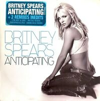 FRENCH CD SINGLE BRITNEY SPEARS ANTICIPATING ULTRA RARE + 2 REMIXES INEDITS 2002