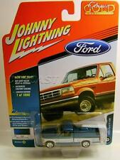 1993 '93 FORD F150 BLUE PICKUP TRUCK CLASSIC GOLD JOHNNY LIGHTNING DIECAST 2017