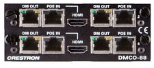 Crestron DMCO-88 HDbaseT 4K Output Card HDMI DM-MD8x8 Digital Media DMC-4K-CO-HD