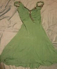 KAREN MILLEN Ladies Viscose Dress Size: UK 14 US 10 EU 42 VERY GOOD Condition