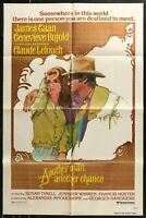 ANOTHER MAN, ANOTHER CHANCE James Caan  1978  1-SHEET MOVIE POSTER  27 x 41