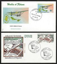 St. Pierre et Miquelon 1986 First Day Covers FDCs (8)