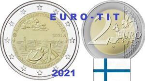 FINLANDE  2  EURO   COMMEMORATIVE   ILES    ALAND      2021  /  2021    NOUVEAU