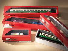 More details for auhagen kit 99301 new 10 storage boxes for locomotives and coaches 150x60x50mm