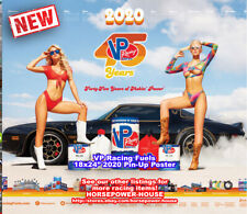 NEW! 2020 VP RACING FUEL GARAGE SHOP GIRL BIKINI POSTER CALENDAR Kourtney Amanda