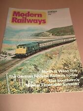 MODERN RAILWAYS MAGAZINE ~ MARCH 1978 IAN ALLAN EXCELLENT