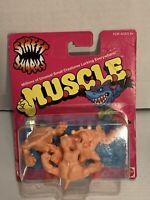 Street Sharks M.U.S.C.L.E. Muscle Men Figures Dr Piranoid Jab Ripster Mattel NIP