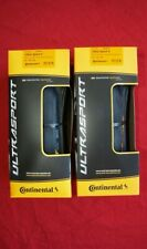 Pair Continental Ultra Sport II 700 x 28c Folding Road Gravel + Front Rear Tyres