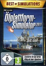 Best of Simulations: Ölplattform-Simulator 2011 (PC-CD) NEU&OVP
