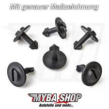 15x dispositivos de protección trasera KLIPS protección del motor clips audi a4 a6 VW Passat skoda nuevo