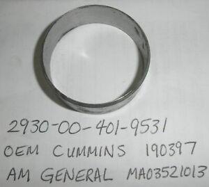 190397 NOS Cummins Wear Sleeve AM General MA03521013 U.S. Army 2930-00-401-95...