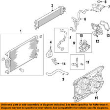 FORD OEM 14-18 Fusion-Engine Water Pump DS7Z8501E