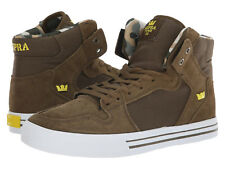 NEW SUPRA VAIDER OLIVE GOLDEN WHITE SURF BMX SNOW SKATEBOARD SPORTS SHOES 14