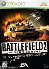 Used Xbox 360 Battlefield 2: Modern MICROSOFT JAPAN JP JAPANESE JAPONAIS IMPORT