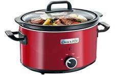 Crock-pot SCV400RD-060 210W 3.5L Slow Cooker - Red