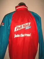 vintage 80`s PALL MALL Nylon Jacke rain jacket oldschool festival Regenjacke XL