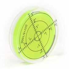 Bullseye Spirit Level Large Round Circular Bubble Vial 60mm Caravan Furniture