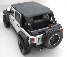 Smittybilt 94535 Extended Top for 07-09 Jeep Wrangler JK Unlimited 4 Door Black