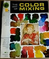 """""""The Art of Color Mixing"""" (1966) Grumbacher Library #40006 - Paperback"""