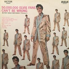 "Elvis Presley - 50,000,000 Elvis Fans Can't Be Wrong Vol 2 AUST 12"" Vinyl LP"