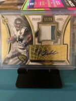 2015 Topps Supreme Gold /25 TJ Yeldon #SAP-TY RPA Rookie Patch Auto