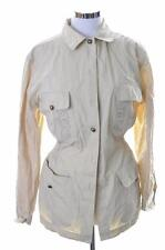 Iceberg Womens Jacket Size 42 Medium Beige Cotton