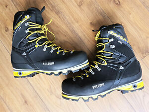 SALEWA MS PRO GUIDE Wide Mens boots NEW US 13 for climbing trekking caving