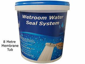 Waterproof Tanking kit Membrane Liquid 8 metre tub WSK